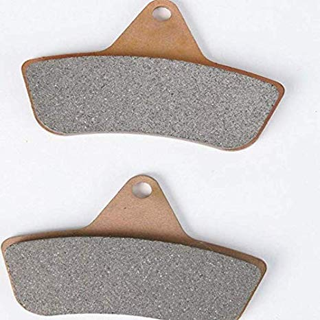 Rear Right Semi-メタリック Brake Pads フィット Suzuki GSF650 Naked バンディット Non ABS 2005-2006 (海外取寄せ品)