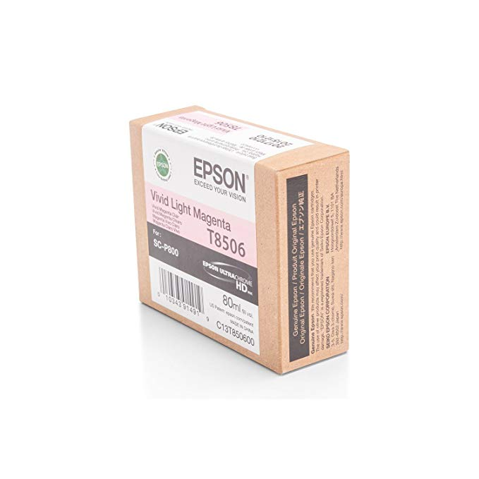 エプソン Epson T850600 T850 UltraChrome HD Vivid Light Magenta Ink (海外取寄せ品)