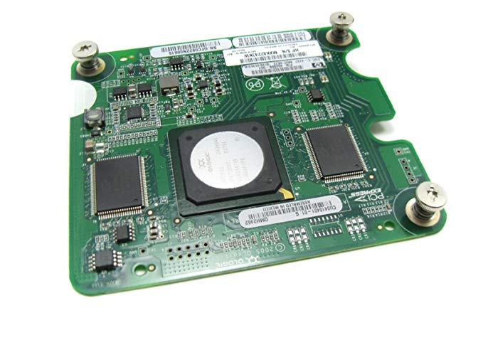 HP 405920-001 Qlogic 4GB QLE2462 ファイバ channel mezzanine board - For HP c-クラス BladeSystem (海外取寄せ品)