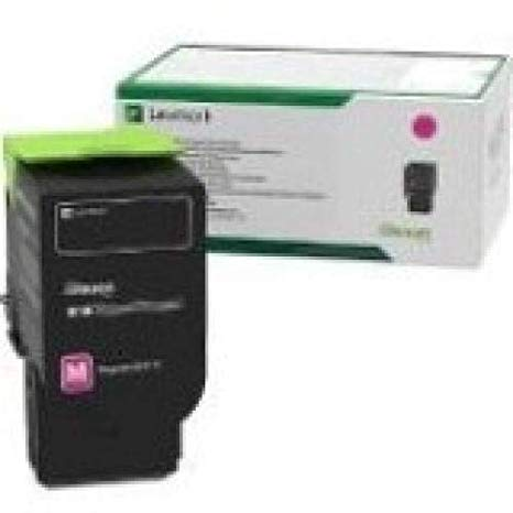 Lexmark 78C1XM0 Magenta エクストラ ハイ Yield Return Program Toner Cartridge (海外取寄せ品)