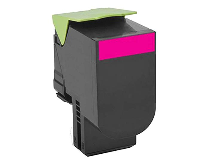 Lexmark 78C0XMG TAA-Compliant Magenta エクストラ ハイ Yield Return Program Toner Cartridge Toner (海外取寄せ品)