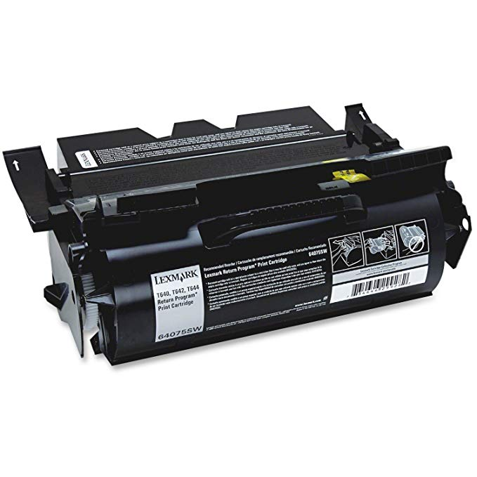 Lexmark 64075SW ブラック Return Program Toner Cartridge (海外取寄せ品)