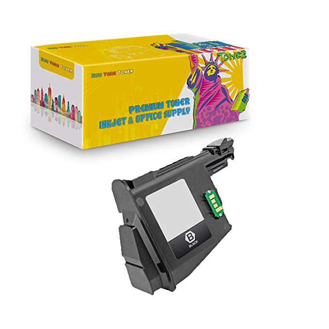 New ヨーク TonerTM New Compatible 1 パック TK1122 ハイ Yield Toner for Kyocera-Mita - Ecosys FS 1025 | 1060 | 1125. -- ブラック (海外取寄せ品)