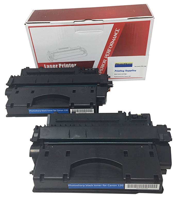 2 Compatible リプレイスメント Cannon imageCLASS D1520 ブラック Printer Ink Toner Cartridge for キャノン Canon 120 2617B001AA D1100 Series for イメージ-クラス D1520 オール-in-one AIO 多機能 Monochrome Laser マシーン (海外取寄せ品)