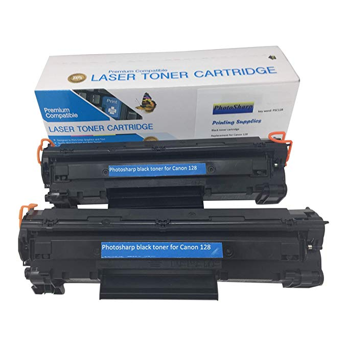 2 PhotoSharp Compatible Ink Toner Cartridge リプレイスメント for キャノン Canon I28 Cannon ImageClass D-530 550 MF-4412 4570dn Laser one 4770n 4420n 4580dn 海外取寄せ品 OUTLET SALE オール 4880dw 4550 4450 (訳ありセール 格安) 4550d Printer 4570dw 4890dw in