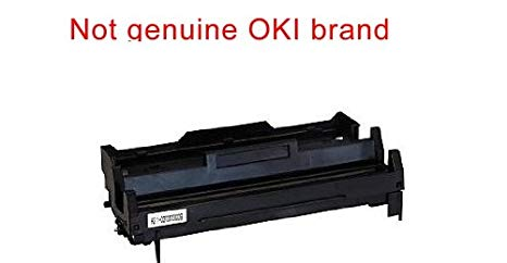 Compatible リプレイスメント ブラック OKI MB470 イメージ drum unit cartridge to replace OKIdata 43979001 for Oki-データ MB470 MFP 多機能 Mono Monochrome LED laser printer (海外取寄せ品)