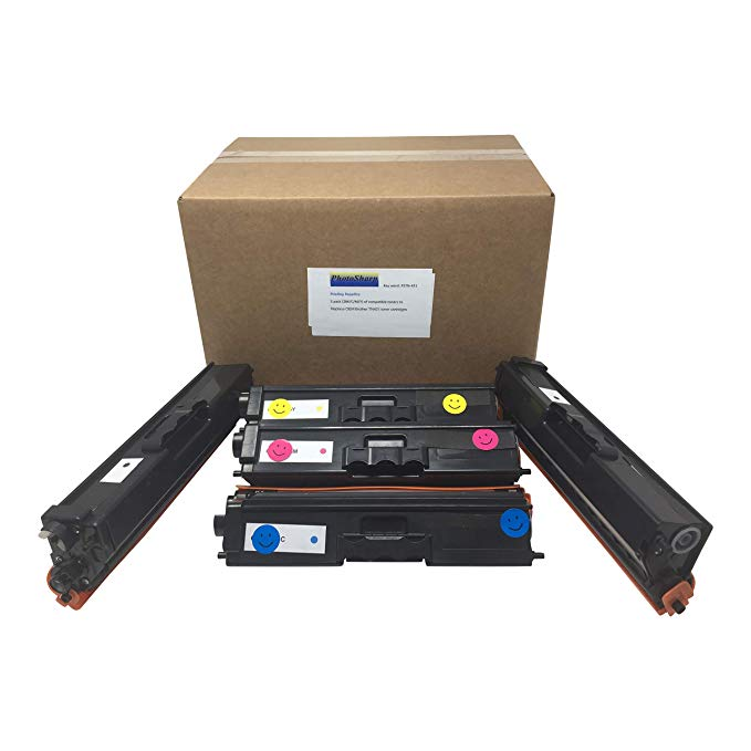5 Compatible HL-L8260CDW 18260cdw Ink Toner Cartridge リプレイスメント for Brother TN431 TN-431BK /431C/431M/431Y (2 BK ブラック/ 1x C シアン/1 M Magenta /1 Y Yellow) L8260 CDW カラー Laser Printer (海外取寄せ品)