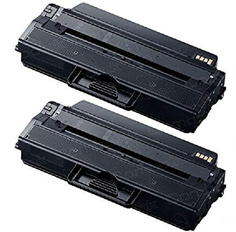 Two Compatible サムスン SL-M2820DW Ink Toner cardriges to Replace サムスン MLT-D115L Samung SL-M2820DW Mono Laser 多機能 オール-in-one Printer オンリー ソールド PhotoSharp (海外取寄せ品)