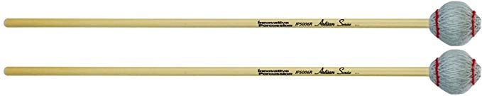 Innovative Percussion Artisan IP5006R ベリー Hard Marimba Mallets Rattan (海外取寄せ品)
