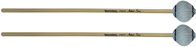 Innovative Percussion Artisan IP5001R ソフト Marimba Mallets Rattan (海外取寄せ品)