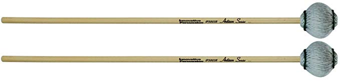 Innovative Percussion Artisan IP5003R Medium Marimba Mallets Rattan (海外取寄せ品)