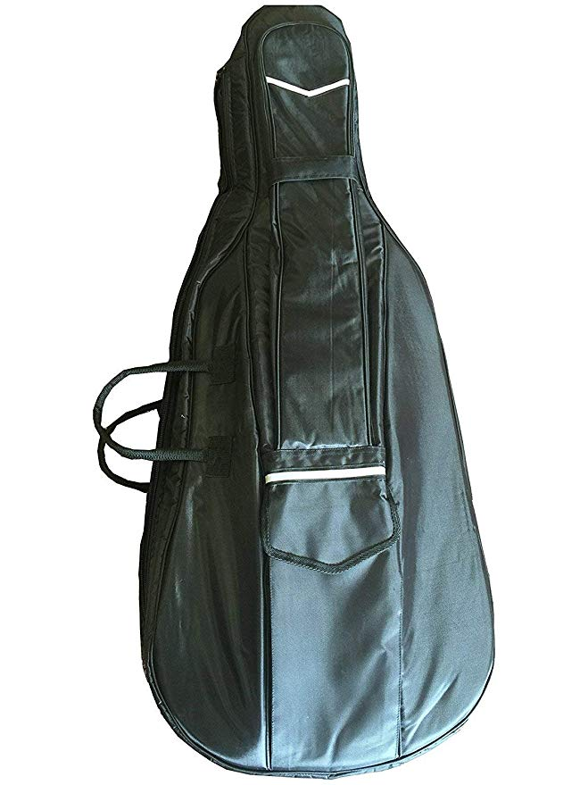 Deluxe 20mm Thick Cello Bag, Heavy Duty ジッパー (4/4) (海外取寄せ品)