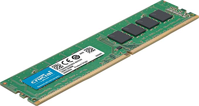 Crucial 64GB キット (16GBx4) DDR4 2400 MT/s (PC4-19200) DR x8 DIMM 288-ピン メモリ memory - CT4K16G4DFD824A (海外取寄せ品)