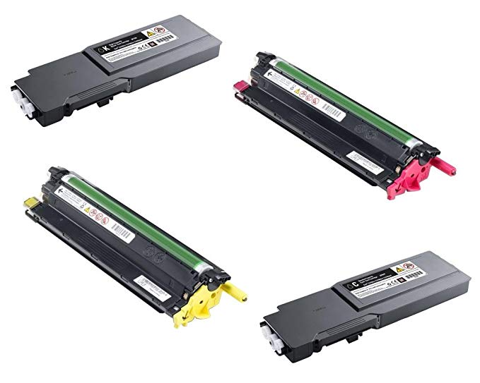 デル Part# KT6FG, V0PNK, 2GYKF, 2PRFP Toner Cartridge セット (OEM) (海外取寄せ品)[汎用品]