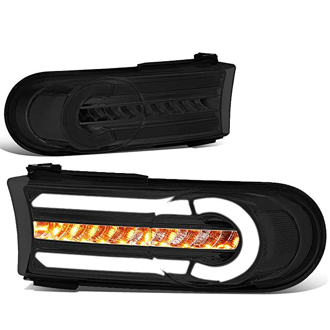 DNA MOTORING BL-LB-FJC07-SM-CL1 LED DRL+Sequential Chasing Turn Signal フロント Bumper Light Corner ランプ (海外取寄せ品)[汎用品]