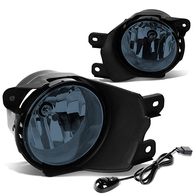 DNA Motoring FL-ZTL-815-SM スモーク レンズ Fog Light+Switch [For 08-16 Sequoia] (海外取寄せ品)[汎用品]