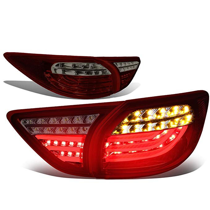 DNA Motoring TL-LED-3D-CX5-RD-SM Tail Light (Driver & Passenger Side) (海外取寄せ品)[汎用品]
