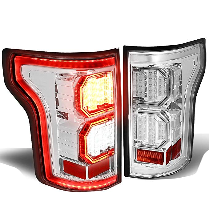 DNA MOTORING TL-LED-3D-F150-15-CC Tail Light Assembly, ドライバー and Passenger Side (海外取寄せ品)[汎用品]