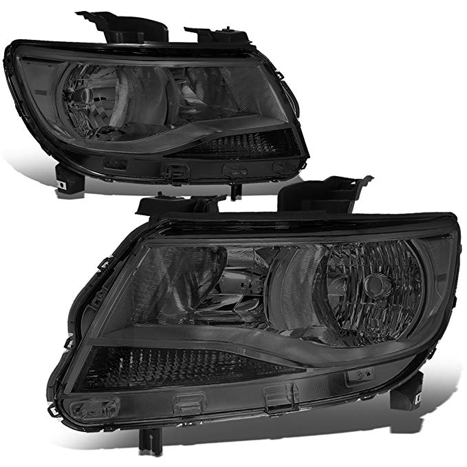DNA Motoring HL-OH-CCO15-SM-CL1 ペア of Headlight Assembly [15-17 Chevy Colorado] (海外取寄せ品)[汎用品]