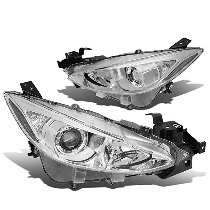 Assembly Motoring & Projector クローム Passenger Side) Headlight DNA HL-OH-MM314-CH-CL1 clear (海外取寄せ品)[汎用品] (Driver