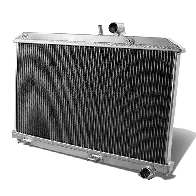 DNA Motoring RA-MRX8-2 2-Row Full Aluminum Radiator (海外取寄せ品)[汎用品]