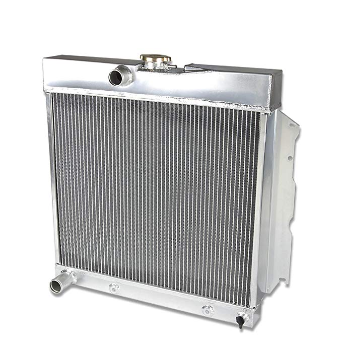 DNA Motoring RA-CORONET66-2 2-Row Full Aluminum Radiator (海外取寄せ品)[汎用品]