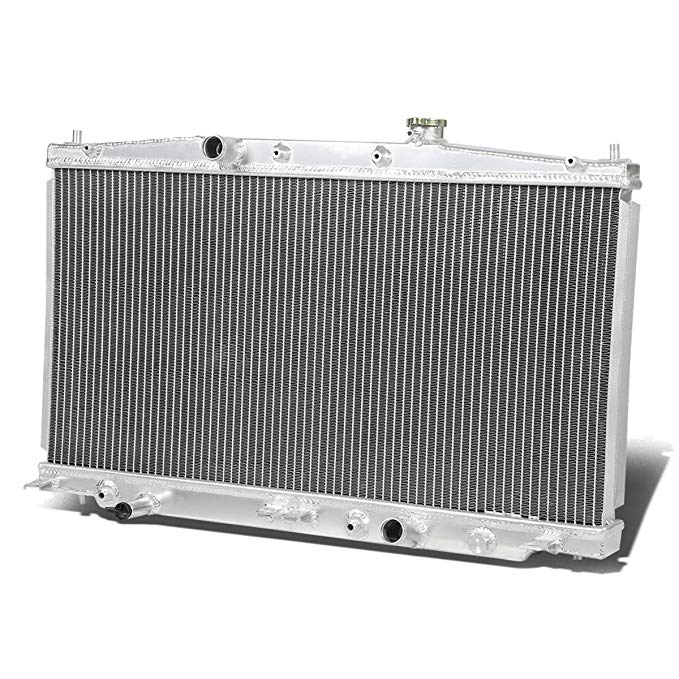 DNA Motoring RA-HCRZ-2 2-Row Full Aluminum Radiator (海外取寄せ品)[汎用品]