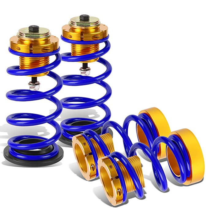 DNA MOTORING ブルー COIL-HC06-BL Suspension Coilover スリーブ キット [for 06-11 Honda Civic] (海外取寄せ品)[汎用品]