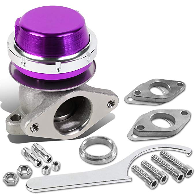 DNA Motoring WG-TS-38MM-T22-PP External Turbo Manifold Wastegate (海外取寄せ品)[汎用品]