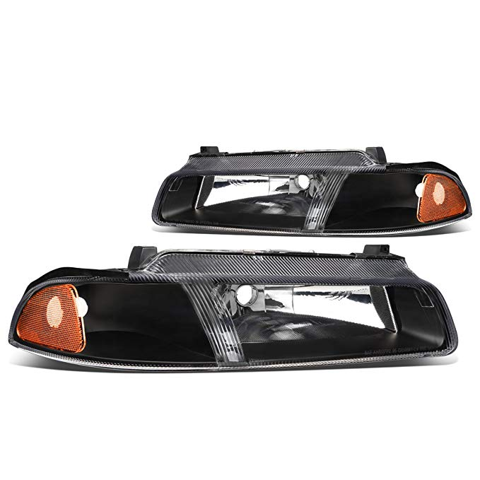 DNA MOTORING HL-OH-011-BK-AM Headlight Assembly, ドライバー And Passenger Side (海外取寄せ品)[汎用品]