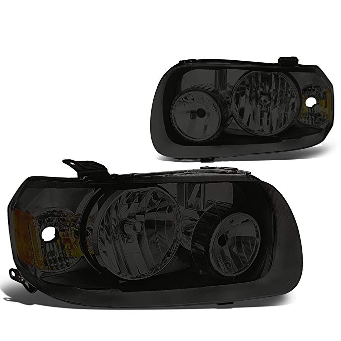 DNA Motoring スモーク アンバー HL-OH-109-SM-AM ペア of Headlight Assembly [05-07 Ford Escape] (海外取寄せ品)[汎用品]
