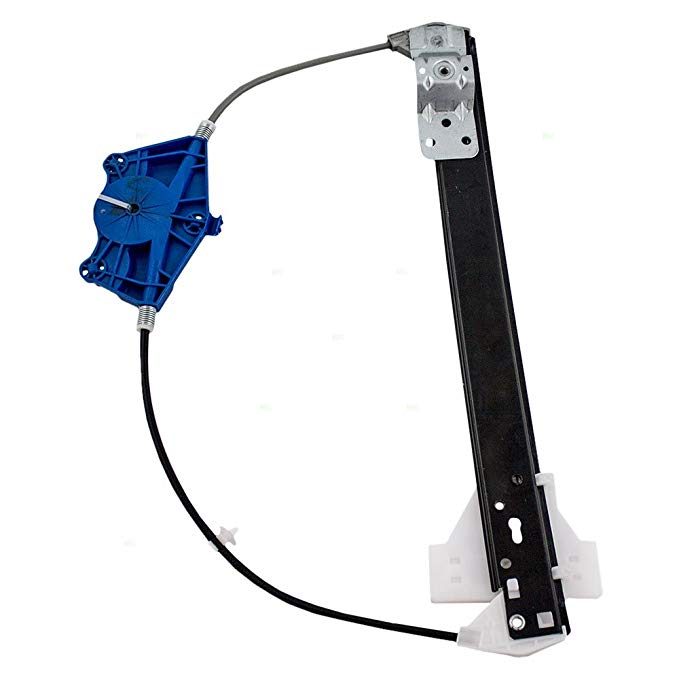 BROCK Drivers Front Power Window Lift Regulator Left Replacement for 08-18 Dodge Grand Caravan 08-16 Chrysler Town /& Country 68030655AA CH1350161