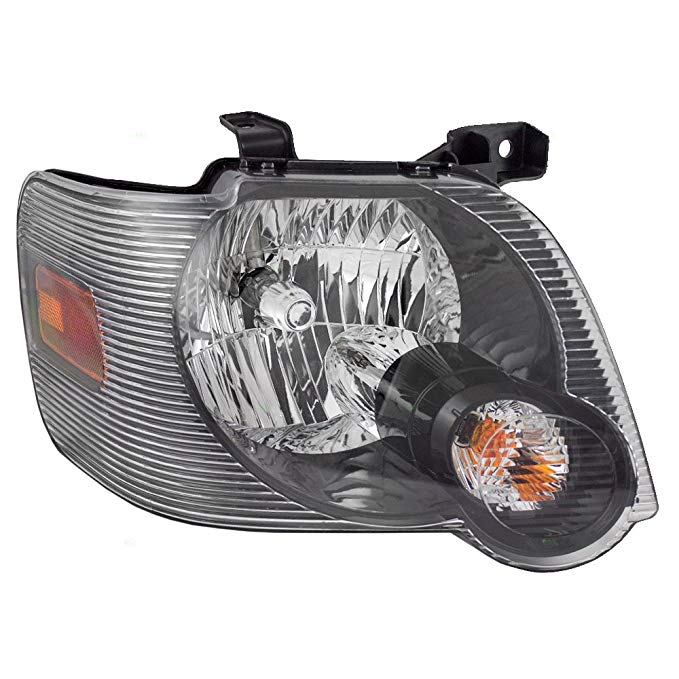 Passengers Headlight Headlamp with スモーク レンズ リプレイスメント for Ford Pickup Truck SUV 8L2Z 13008 A (海外取寄せ品)[汎用品]