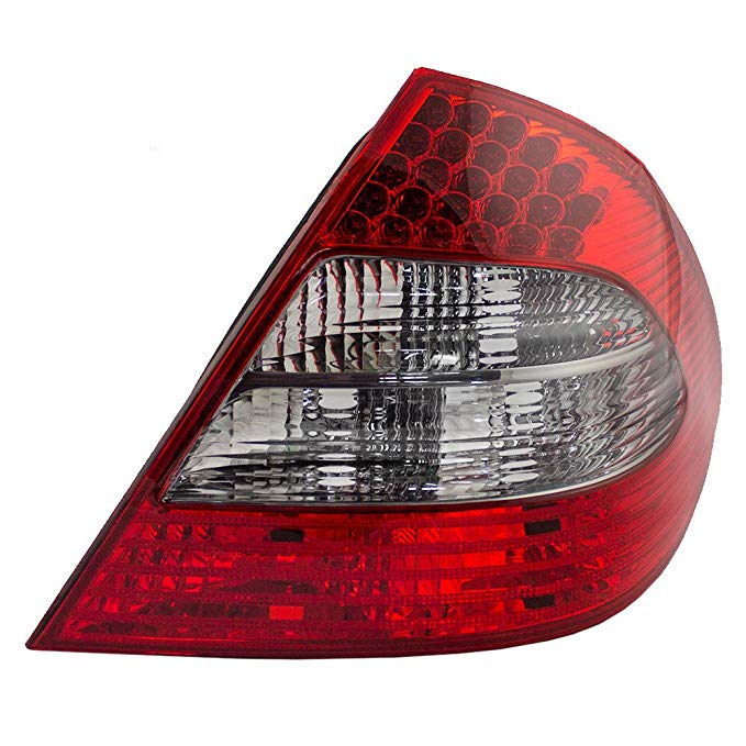 Passengers Taillight Tail ランプ with スモーク バックアップ レンズ リプレイスメント for 07-09 Mercedes-Benz E-クラス セダン 2118202664 (海外取寄せ品)[汎用品]