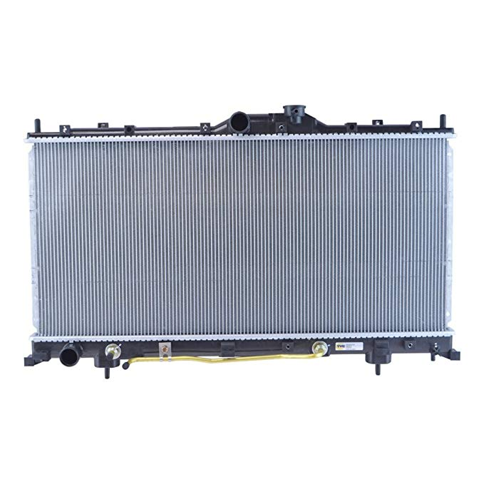 Radiator Assembly Plastic Tank Aluminum Core for 06-12 Mitsubishi Eclipse (海外取寄せ品)