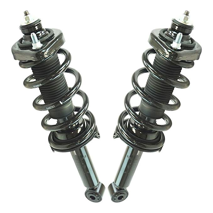 Rear Complete Loaded Strut & スプリング Assembly ペア LH & RH Sides for Honda CR-V (海外取寄せ品)