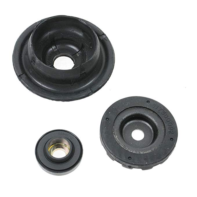 Pair Set of 2 Front Suspension Strut Mount Kit with Bearing for Ford Flex