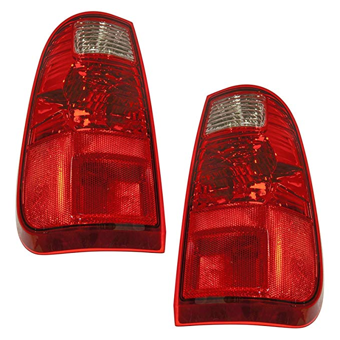 Taillights Taillamps Rear Brake ライト Left/Right ペア セット for 08-15 Super Duty (海外取寄せ品)