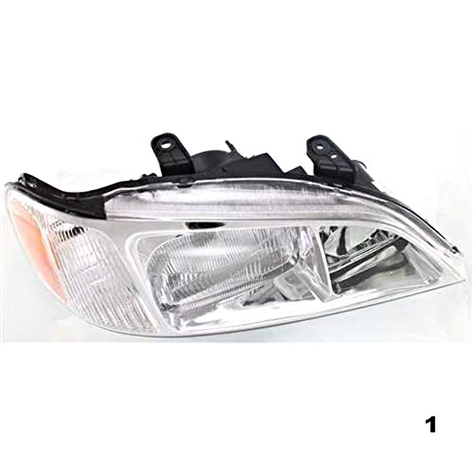 Aftermarket フィット 99-01 Acura TL Right Passenger Headlight Unit (海外取寄せ品)[汎用品]