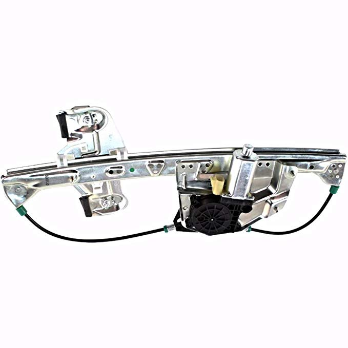 Aftermarket フィット 00-05 GM Cadillac Deville Right Pass Rear Power ウィンドウ レギュレーター w/モーター (海外取寄せ品)[汎用品]