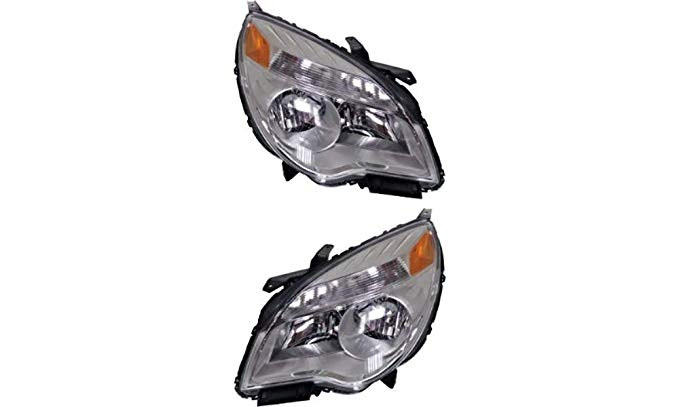 10-12 Chevy Equinox LTZ Left & Right Headlamp Assemblies (pair) (海外取寄せ品)[汎用品]