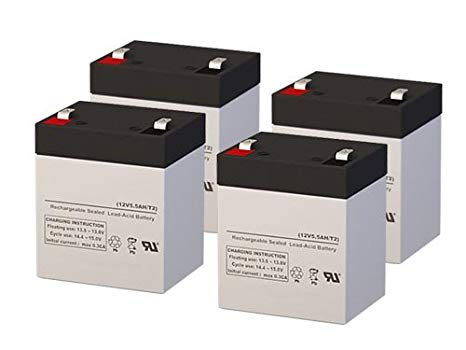 Para Systems Minuteman E 1100 UPS リプレイスメント Batteries - セット of 4 (海外取寄せ品)[汎用品]