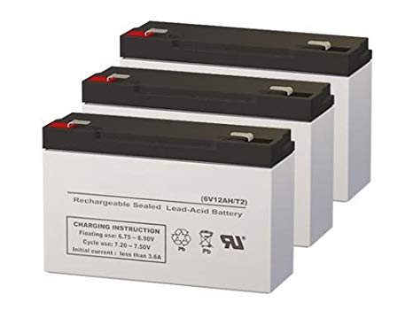 Para Systems Minuteman A 500/2 UPS リプレイスメント Batteries - セット of 2 (海外取寄せ品)[汎用品]