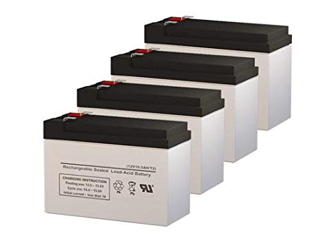 Sola N1200 UPS リプレイスメント Batteries - セット of 4 (海外取寄せ品)[汎用品]