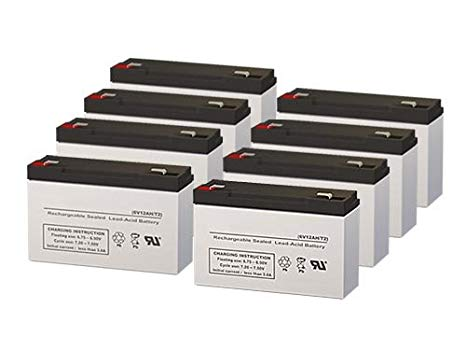 Safe SPS1000 UPS リプレイスメント Batteries - セット of 8 (海外取寄せ品)[汎用品]