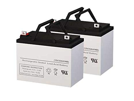 Topaz LCL12V33P UPS リプレイスメント Batteries - セット of 2 (海外取寄せ品)[汎用品]