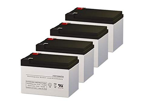Para Systems Minuteman E 2300 UPS リプレイスメント Batteries - セット of 4 (海外取寄せ品)[汎用品]