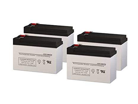 Para Systems Minuteman E 1500i UPS リプレイスメント Batteries - セット of 4 (海外取寄せ品)[汎用品]