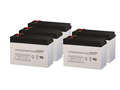 Para Systems Minuteman MM1KCP/2 UPS リプレイスメント Batteries - セット of 5 (海外取寄せ品)[汎用品]