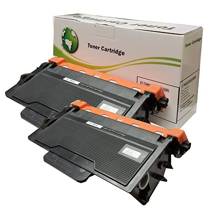 INK4WORK 2 パック リプレイスメント for Brother TN850 TN-850 TN820 ハイ Yield Toner Cartridge for DCP-L5500DN DCP-L5600DN DCP-L5650DN HL-L5000D HL-L5100DN HL-L5200DW HL-L5200DWT HL-L6200DW HL-L6200DWT (海外取寄せ品)